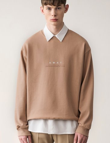 AWAY SWEATSHIRT [BEIGE]