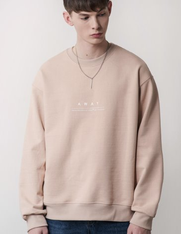 AWAY SWEATSHIRT [L.BEIGE]