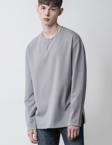 19SS VENT LAYERED T-SHIRT [GREY]