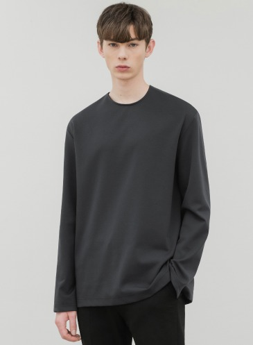 HIGH VENT LAYERED T-SHIRT [CHARCOAL]