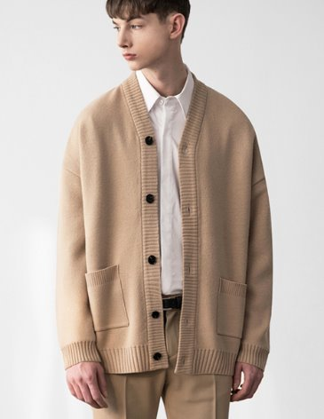 [RE-EDITION] ESSENTIAL CARDIGAN [L.BEIGE]