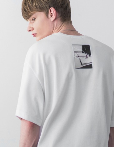 LATE T-SHIRT [WHITE]