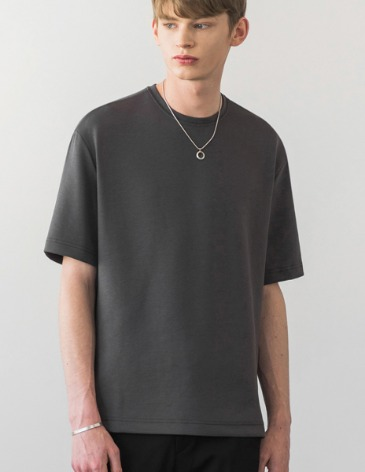 ESSENTIAL BASIC T-SHIRTS [DEEP GREY]