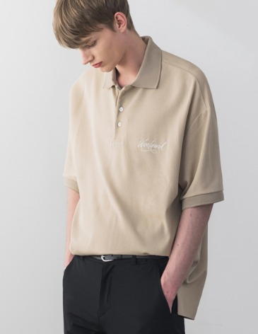 WEEKEND PK T-SHIRT [BEIGE]