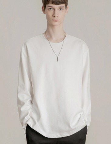 19F/W VENT LAYERED T-SHIRT [WHITE]