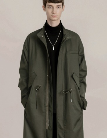 OVERSIZED M-51 COAT JACKET [KHAKI]